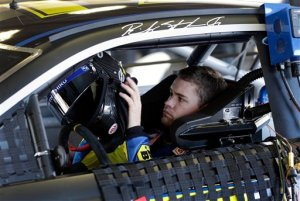 Ricky Stenhouse Jr. prepares to go out on the track during NASCAR auto race testing at Daytona International Speedway, Thursday, Jan. 10, 2013, in Daytona Beach, Fla. Photo - AP Photo/John Raoux