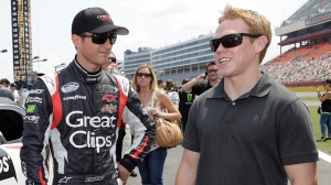Kasey Kahne and Brad Sweet will share NNS No. 5 Great Clips car at JR Motorsports Photo - JR Motorsports