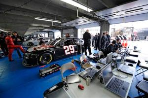 The No. 29 tested at Charlotte in December 2012<br/>Photo - Jared Tilton/Getty Images