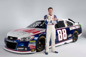 Dale Earnhardt Jr, with his #88 National Guard ChevroletPhoto - Hendrick Motorsports