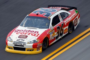 Dave Blaney in #36 Golden Corral at Daytona July 2012Photo - Todd Warshaw/Getty Images