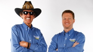 "Richard ""The King"" Petty and Dale Earnhardt Jr, NASCAR's most popular driver team up in 2013Photo - JR Motorsports"