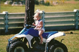 Inspired by her father, Johanna Long yearned to be a racer behind the wheel.  Photo - Johanna Long's Facebook page