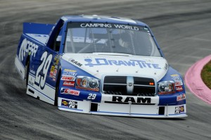 Ryan Blaney, driver of the #29 at Martinsville Speedway Oct 2012Photo - Jared C Tilton/Getty Images